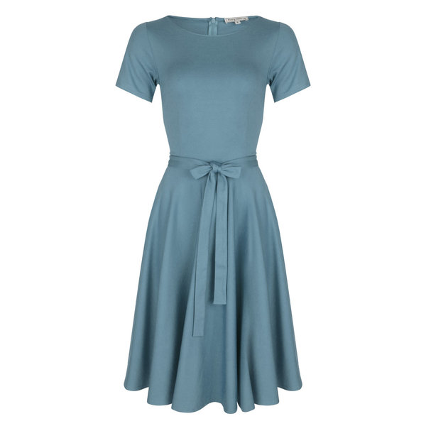 Ballerina Dress Shortsleeve Ice Blue