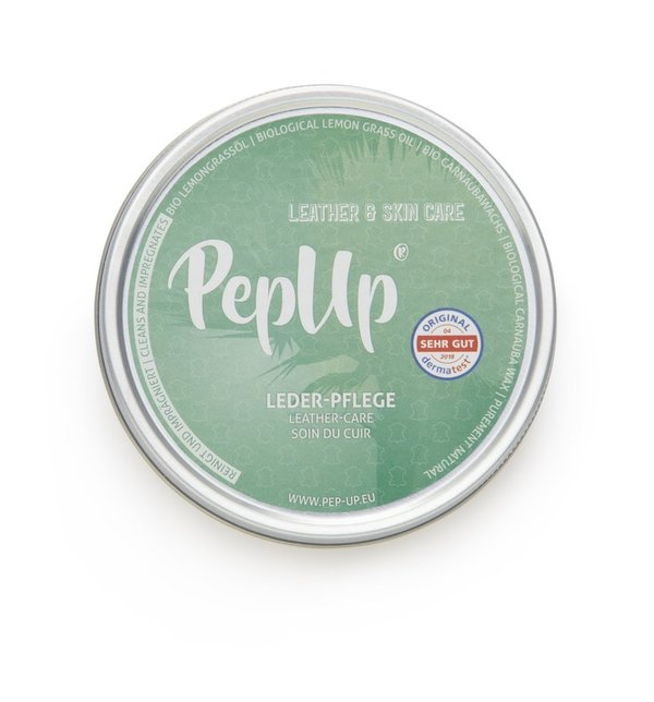 Pep Up Leder Pflege Lemongrass