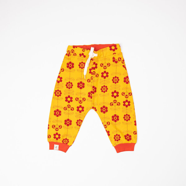 Lucca Baby Pants Old Gold Fairy Tail Flowers - KIDS